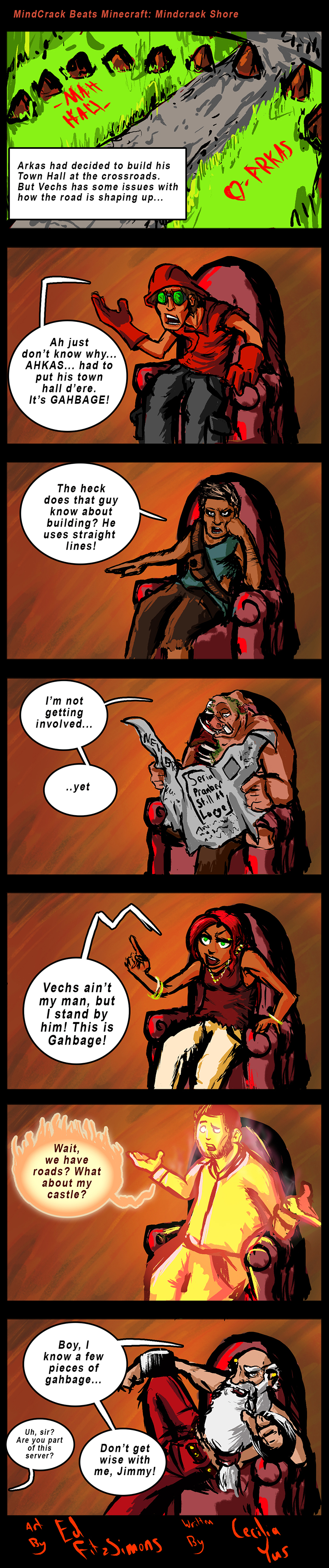Comic 17: Mindcrack Shore